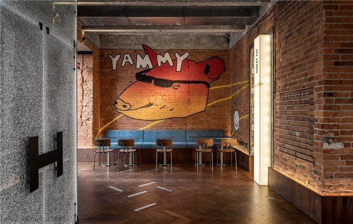 國潮風餐廳設計