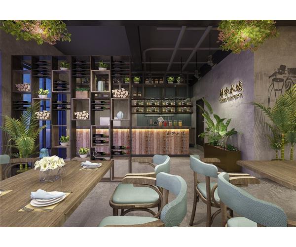 菲律宾解馋居水饺店设计