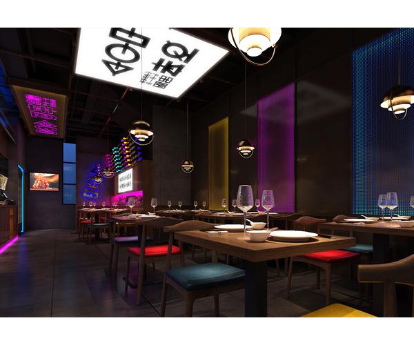 百辛串吧餐厅设计