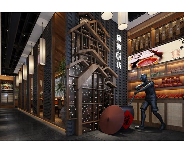 六安麻椒蜀坊餐厅设计