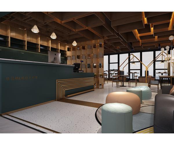 郑州琥珀光料理餐厅设计