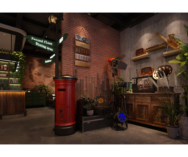 江苏阿媚的店港式打边炉餐厅设计