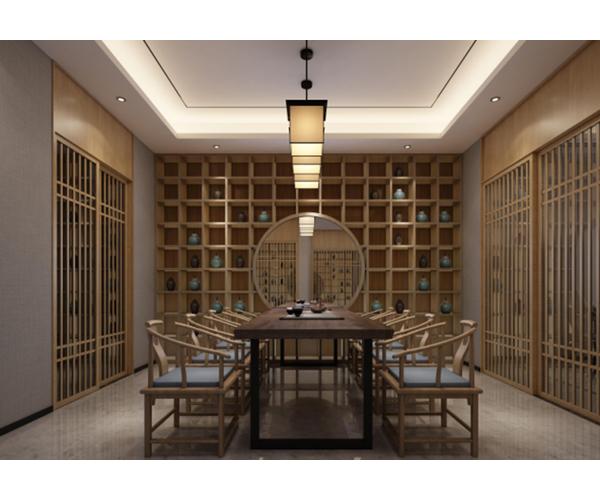 菲律宾双龙茶社餐厅设计