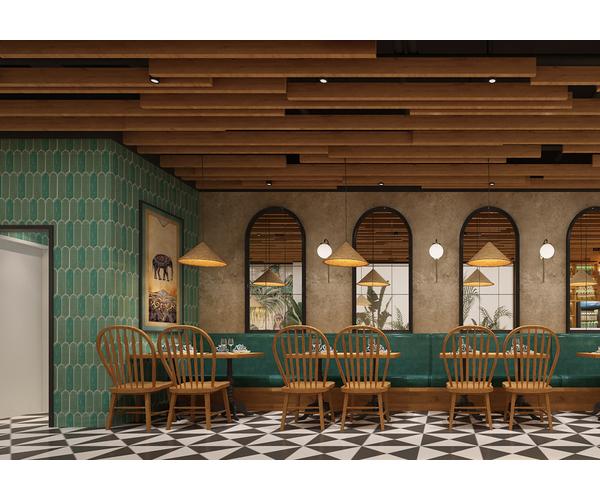 菲律賓Narra kitchen快餐店設計