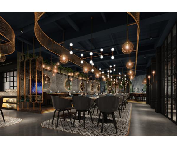 马来西亚潮汕火锅店设计