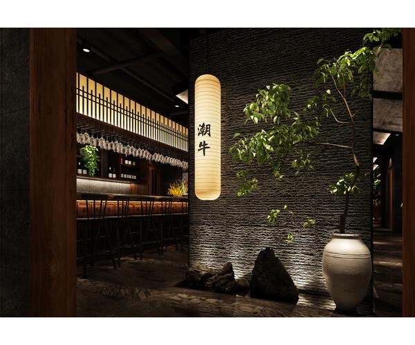 六扇门丘比特火锅店设计