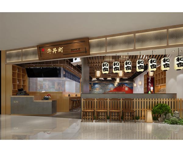 江苏和风牛丼町餐厅设计