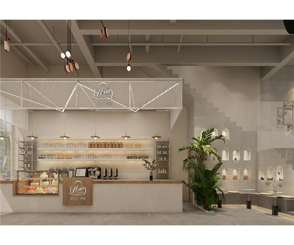 宁夏甜品店设计—万达城店