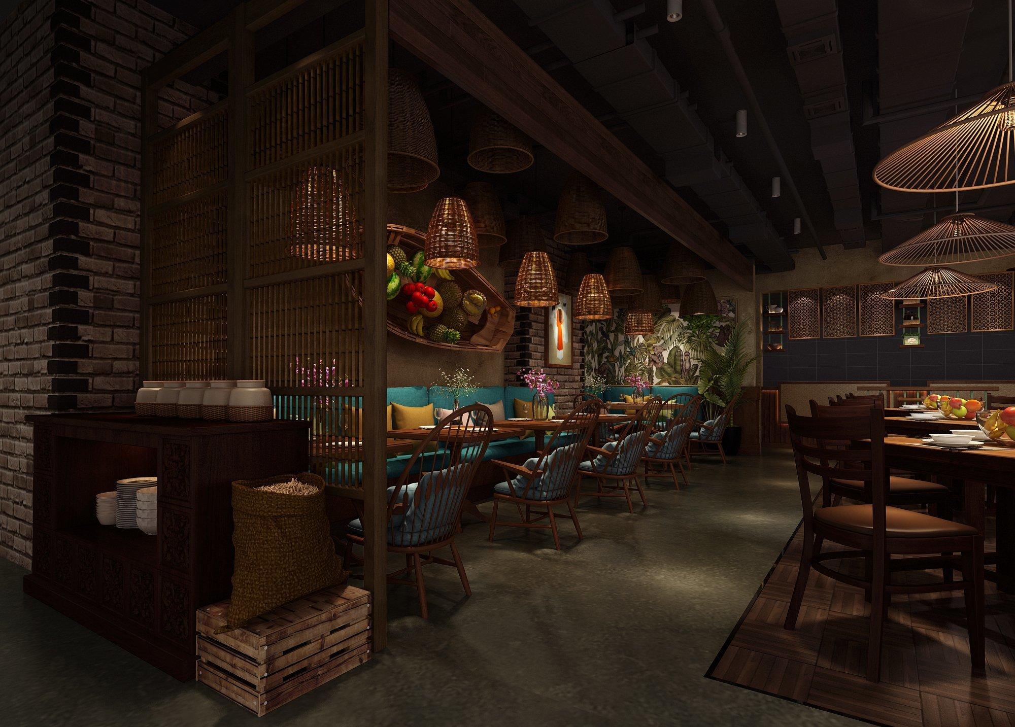 越南餐廳設計