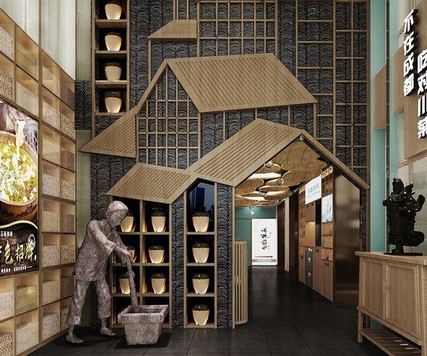 麻椒蜀坊餐廳設計之老店改造:不在成都,吃對川菜