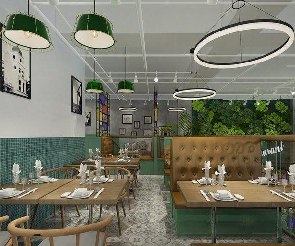 茶餐厅设计—广东兄弟茶餐厅
