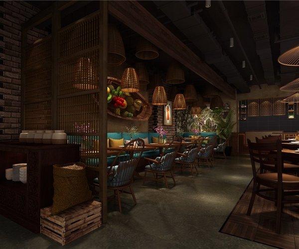 廣東橄欖小館越南餐廳設計
