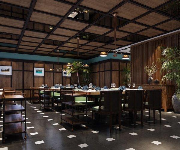 六扇門克拉溫泉餐廳設計