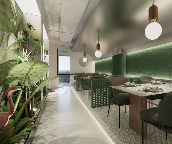 沈阳青柠西餐厅设计