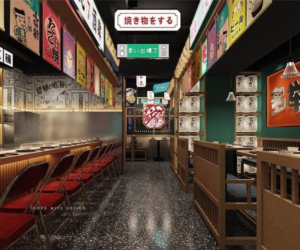 蚝七酒肆海鲜餐厅设计
